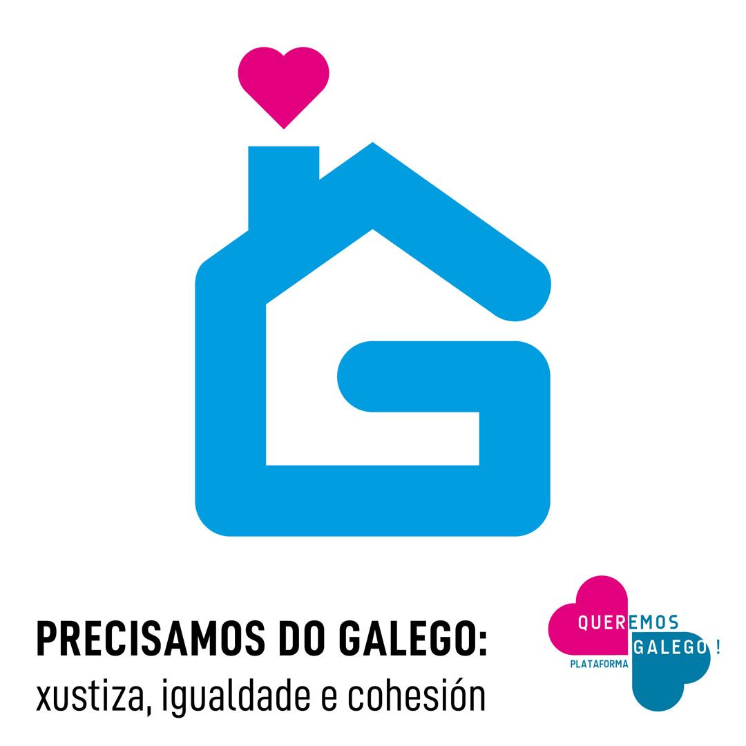 Queremos Galego chama a defender o idioma desde xanelas e varandas